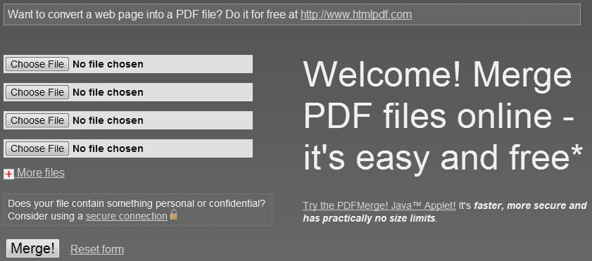 Kā apvienot vairākus PDF failus vienā dokumentā?